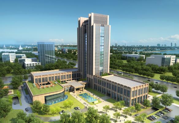 江苏宝应农村商业银行综合楼工程
